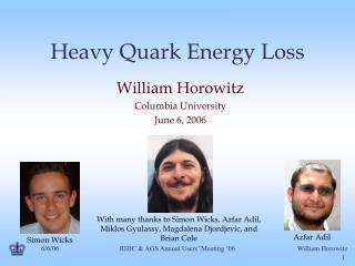 Heavy Quark Energy Loss