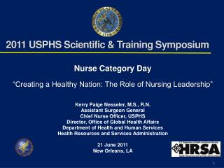 2011 USPHS Scientific & Training Symposium