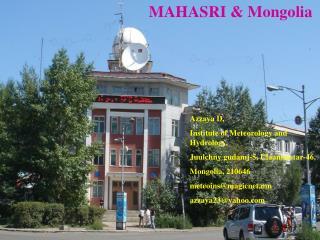 MAHASRI & Mongolia