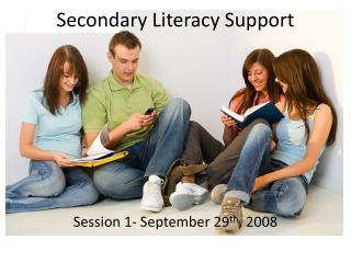 Secondary Literacy Support