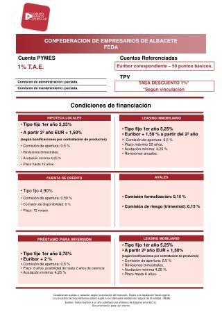CONFEDERACION DE EMPRESARIOS DE ALBACETE FEDA