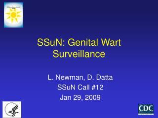 SSuN: Genital Wart Surveillance