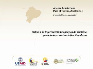 Alianza Ecuatoriana Para el Turismo Sostenible gstalliance/ecuador