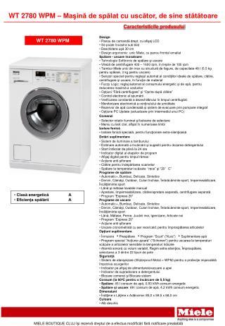 Caracteristicile produsului