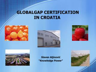 GLOBALGAP CERTIFICATION  IN CROATIA