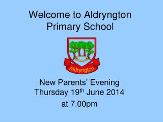 Welcome to Aldryngton Primary School