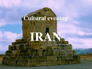 Cultural evening IRAN