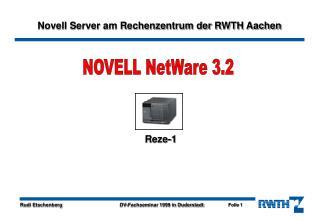 NOVELL NetWare 3.2