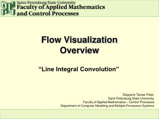 Flow Visualization Overview