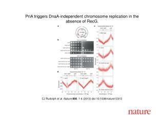 CJ Rudolph  et al. Nature  000 , 1-4 (2013) doi:10.1038/nature12312