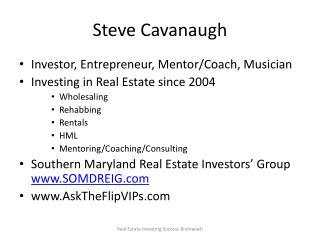 Steve Cavanaugh