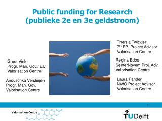 Public funding for Research (publieke 2e en 3e geldstroom)