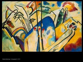 Wassily Kandinsky - Composition IV, 1911