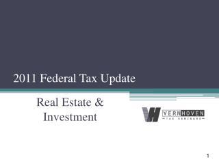 2011 Federal Tax Update