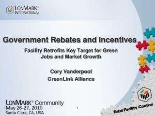 Government Rebates and Incentives