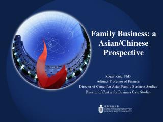 Family Business: a Asian/Chinese Prospective