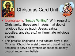 Christmas Card Unit