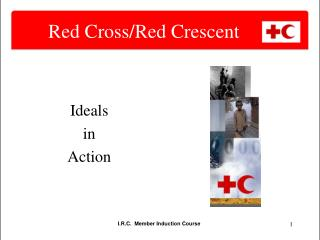 Red Cross/Red Crescent