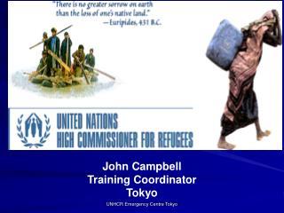 John Campbell Training Coordinator Tokyo