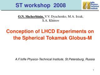 ST workshop  2008