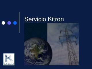 Servicio Kitron