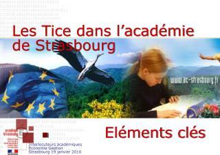 Les Tice dans l'académie de Strasbourg