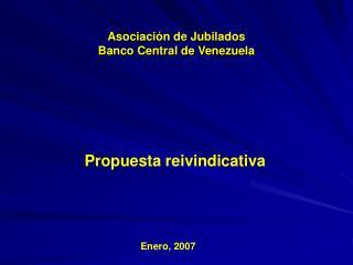 Asociación de Jubilados Banco Central de Venezuela