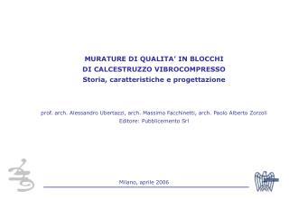 Milano, aprile 2006