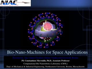 Bio-Nano-Machines for Space Applications