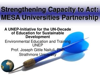 Strengthening Capacity to Act: MESA Universities Partnership