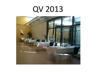 QV 2013