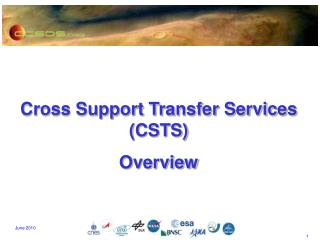 Cross Support Transfer Services (CSTS)  Overview