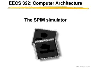 The SPIM simulator