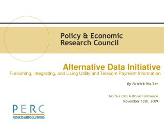 Policy & Economic Research Council