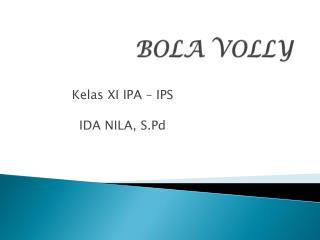BOLA VOLLY