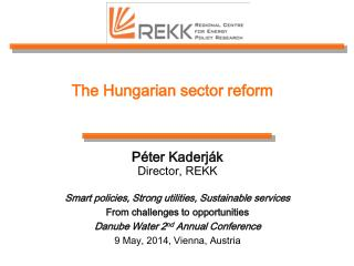 The Hungarian sector reform