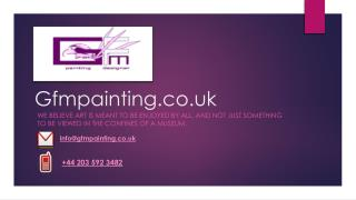 Welcome to GFM Oil Painting UK