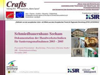 im Auftrag des Landes Salzburg