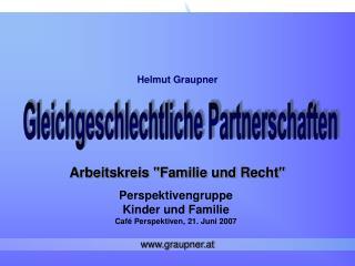 """Arbeitskreis """"Familie und Recht"""""""