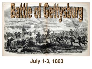 July 1-3, 1863
