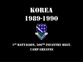 Korea  1989-1990