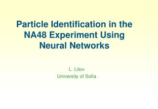 Particle Identification in the NA48 Experiment Using Neural Networks