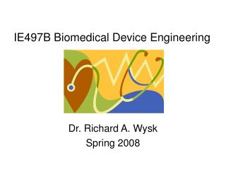 IE497B Biomedical Device Engineering