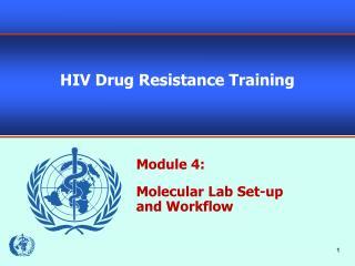 HIV Drug Resistance Training