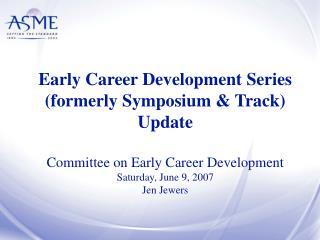 IMECE ECD Track 2006 Results