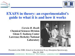 EXAFS in theory: an experimentalist's guide to what it is and how it works