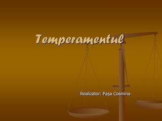 Temperamentul