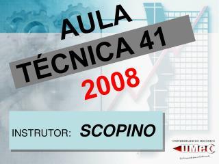 AULA TÉCNICA 41  2008