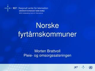 Norske fyrtårnskommuner