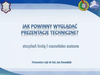 Jak powinny wyglądać prezentacje techniczne?